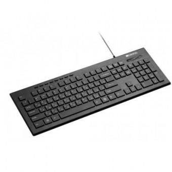 Зображення Клавіатура Canyon CNS-HKB2-RU Black USB (CNS-HKB2-RU)