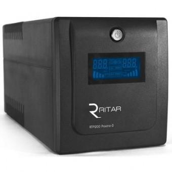 Изображение Источник бесперебойного питания Ritar RTP1200 (720W) Proxima-D (RTP1200D)