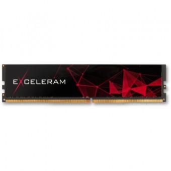 Зображення Модуль пам'яті для комп'ютера Exceleram DDR 4 8 Gb 2666 MHz Black (E408269A)