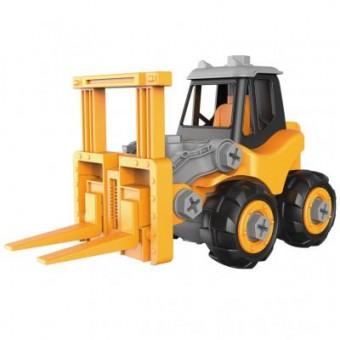 Изображение Конструктор Microlab Toys Конструктор  Строительная техника - автопогрузчик (MT8911)
