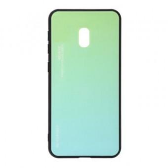 Изображение Чехол для телефона BeCover Gradient Glass для Xiaomi Redmi 8A Green-Blue (704441)