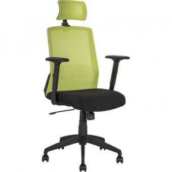 Зображення Офісне крісло  BRAVO black-green (21144)
