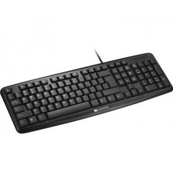 Изображение Клавиатура Canyon CNE-CKEY01-RU Black USB (CNE-CKEY01-RU)