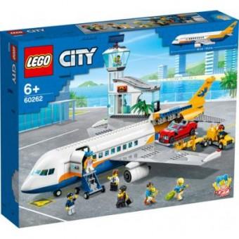 Зображення Конструктор Lego  City Пассажирский самолёт 669 деталей (60262)