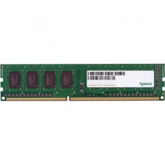 Зображення Модуль пам'яті для комп'ютера Apacer DDR3 4GB 1600 MHz  (AU04GFA60CAQBGC)