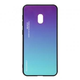 Изображение Чехол для телефона BeCover Gradient Glass для Xiaomi Redmi 8A Purple-Blue (704443)