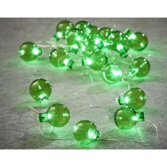 Изображение Гирлянда Luca Lighting Лампочки зеленые, 2,4 м (8718861683783)