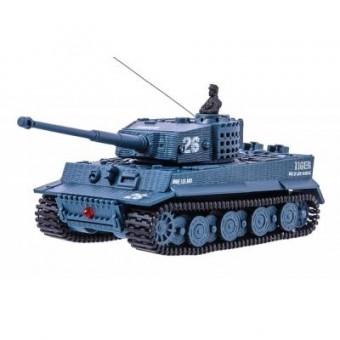 Зображення Радіокерована іграшка Great Wall Toys Танк микро р/у 1:72 Tiger со звуком (серый) (GWT2117-4)