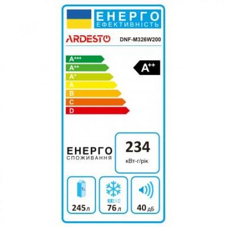 Зображення Холодильник Ardesto DNF-M326W200 - зображення 6