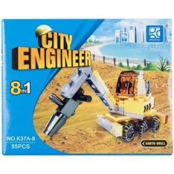 Изображение Конструктор Mindbox Конструктор  CITY ENGINEER в ассорт (K37A)