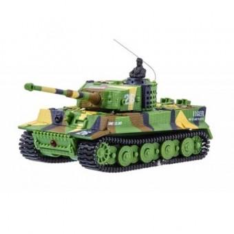 Зображення Радіокерована іграшка Great Wall Toys Танк микро р/у 1:72 Tiger со звуком (хаки зеленый) (GWT2117-1)