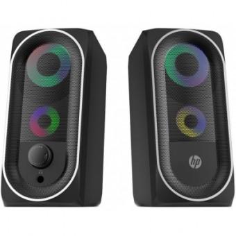 Зображення Акустична система HP DHE-6001 LED RGB Black (DHE-6001)