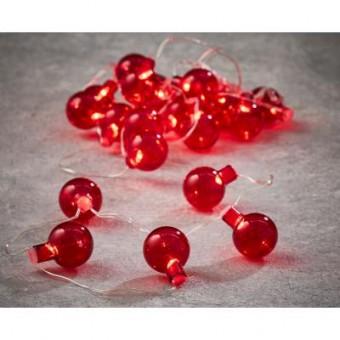 Изображение Гирлянда Luca Lighting Лампочки красные, 2,4 м (8718861683769)