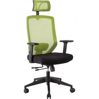 Зображення Офісне крісло  JOY black-green (14502)