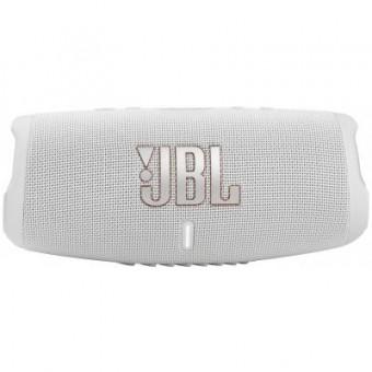 Изображение Акустическая система JBL Charge 5 White (CHARGE5WHT)