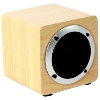 Изображение Акустическая система OMEGA OG61W Bluetooth 5W Wooden Brown