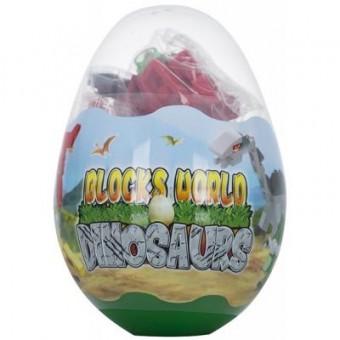 Изображение Конструктор Mindbox Конструктор  DINOSAURS в яйце в ассорт. (K29A)
