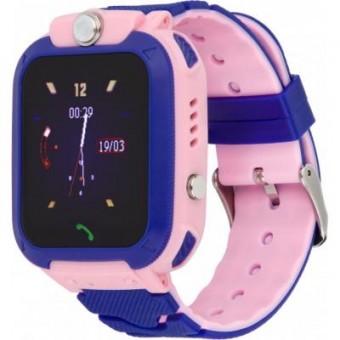 Изображение Smart часы Discovery D2000 THERMO pink Детские смарт часы-телефон с термометром (dscD200thp)