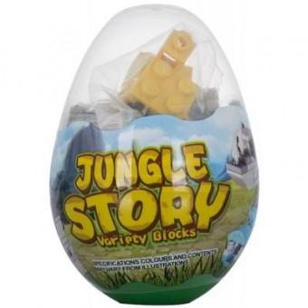 Зображення Конструктор Mindbox Конструктор  JUNGLE STORY в яйце в ассорт (K31A)