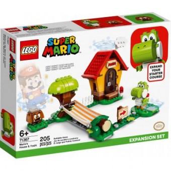 Зображення Конструктор Lego Конструктор  Super Mario Дом Марио и Йоши дополнительный набор (71367)