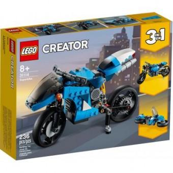 Зображення Конструктор Lego Конструктор  Creator Супермотоцикл 236 деталей (31114)