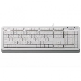 Зображення Клавіатура A4Tech FK10 White