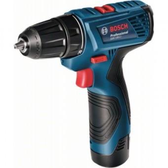 Изображение Шуруповерт Bosch GSR 120-LI Professional, 2*2.5Аh (0.601.9G8.000)