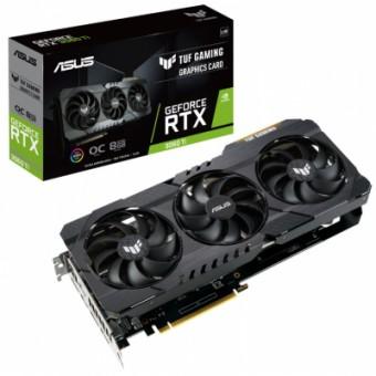 Изображение Asus GeForce RTX3060Ti 8Gb TUF OC GAMING V2 LHR (TUF-RTX3060TI-O8G-V2-GAMING)