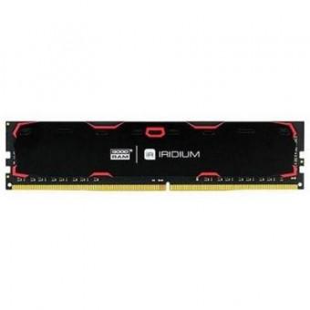 Зображення Модуль пам'яті для комп'ютера Goodram DDR4 16GB 2400 MHz Iridium Black  (IR-2400D464L17/16G)