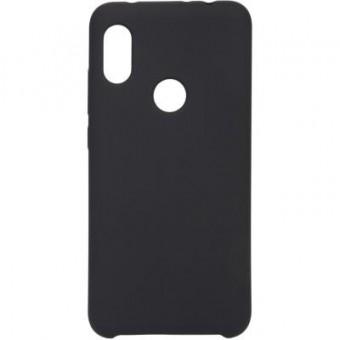 Изображение Чехол для телефона Armorstandart Silicone Case 3D Series Xiaomi Redmi Note 6 Pro Black (ARM54199)