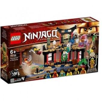 Изображение Конструктор Lego Конструктор  Ninjago Турнир стихий 283 деталей (71735)