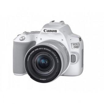 Изображение Цифровая фотокамера Canon EOS 250D 18-55 IS White (3458C003AA)