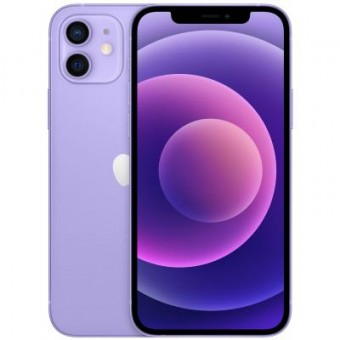 Зображення Смартфон Apple iPhone 12 mini 64Gb Purple (MJQF3)
