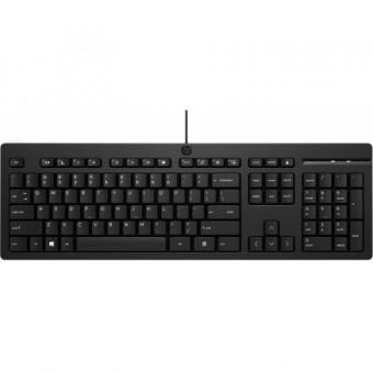 Изображение Клавиатура HP 125 USB Ukr Black (266C9AA)