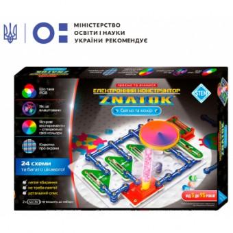 Изображение Конструктор Знаток Конструктор  Свет и цвет (24 схемы) (70799)