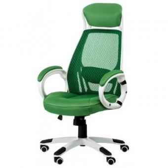 Изображение Офисное кресло Special4You Briz green/white (000002189)