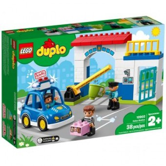 Изображение Конструктор Lego Конструктор  DUPLO Полицейский участок 38 деталей (10902)