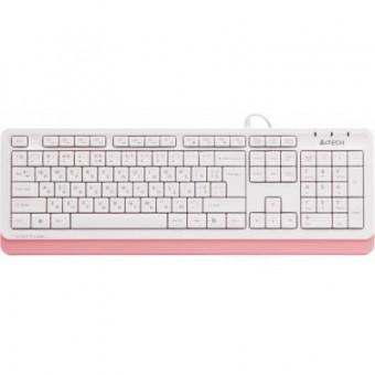 Зображення Клавіатура A4Tech FK10 Pink