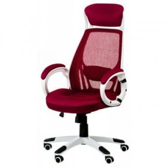 Изображение Офисное кресло Special4You Briz red/white (000002194)