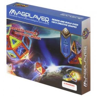 Зображення Конструктор Magplayer Конструктор  Набор 30 элементов (MPB-30)