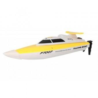 Изображение Радиоуправляемая игрушка Fei Lun Катер Racing Boat FT007 2.4GHz желтый (FL-FT007y)