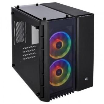 Зображення Корпус  280X RGB Tempered Glass Black (CC-9011135-WW)