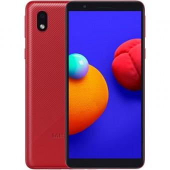 Изображение Смартфон Samsung SM-A013FZ (A01 Core 1/16Gb) Red (SM-A013FZRDSEK)