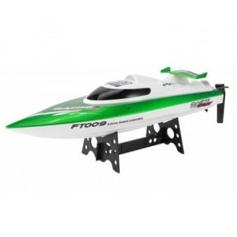 Изображение Радиоуправляемая игрушка Fei Lun Катер FT009 High Speed Boat зеленый (FL-FT009g)