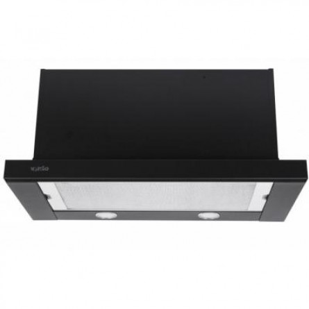 Зображення Витяжки Ventolux Garda 60 BK 1100 SMD LED - зображення 1