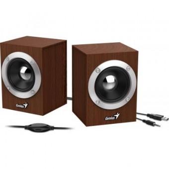 Изображение Акустическая система Genius SP-HF280 USB Wood (31730028400)