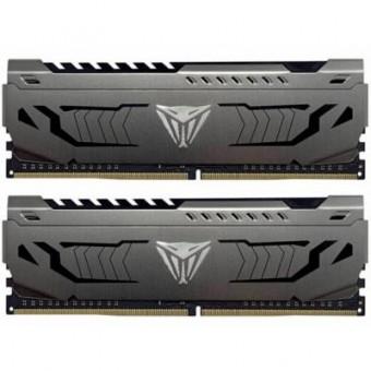Зображення Модуль пам'яті для комп'ютера Patriot DDR4 16GB (2x8GB) 3000 MHz Viper Steel  (PVS416G300C6K)