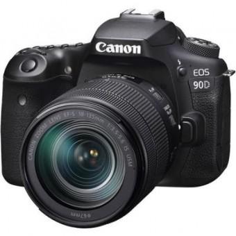 Изображение Цифровая фотокамера Canon EOS 90D 18-135 IS nano USM (3616C029)