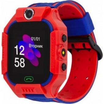 Изображение Smart часы Discovery iQ5000 Camera LED Light Red Детские смарт часы-телефон треке (iQ5000 Red)