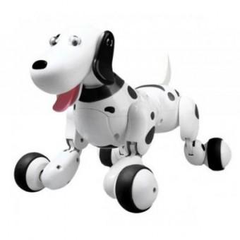 Изображение Радиоуправляемая игрушка Happy Cow Робот-собака Smart Dog, бело-черный (HC-777-338b)
